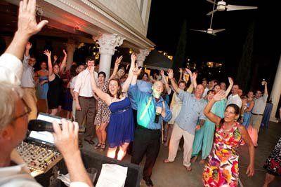 DJ in action on the dance floor