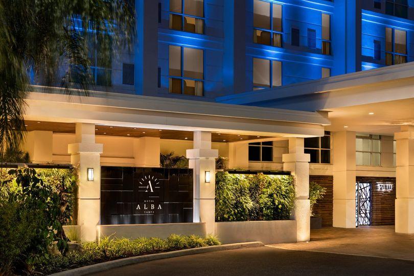 Hotel Alba-Entry