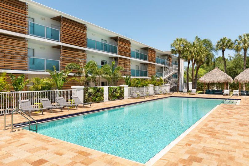 Hotel Alba-Pool