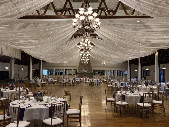 New ballroom ceiling
