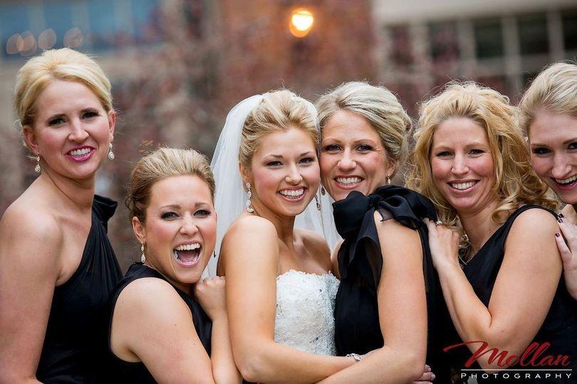 andreas wedding party