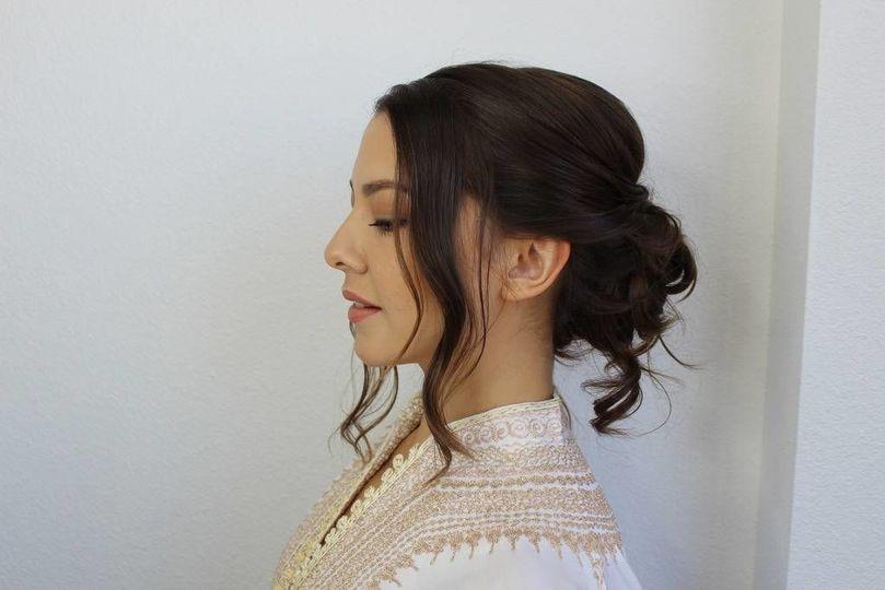 Great hair arrangement