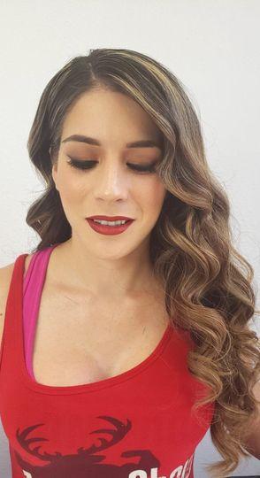 Hair by Brianna makeup by Trisha