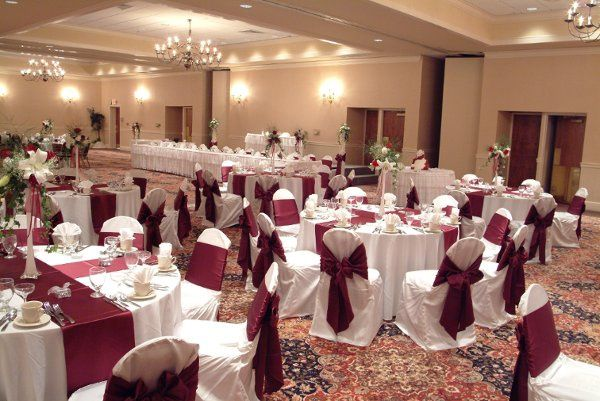 Our Grand Ballroom is a perfect indoor location for Wedding Receptions.