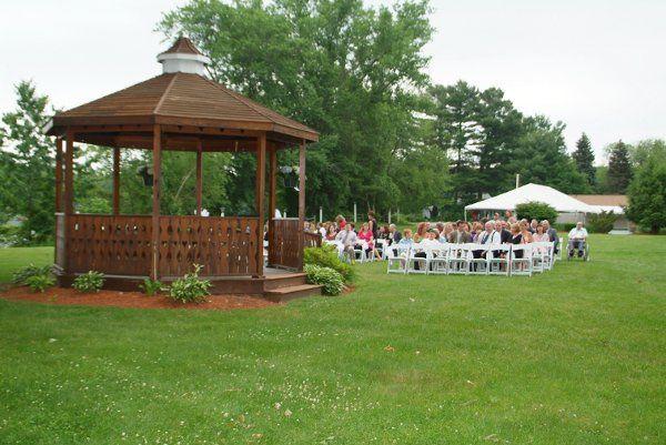 Peaceful outdoor Ceremony Gazebo