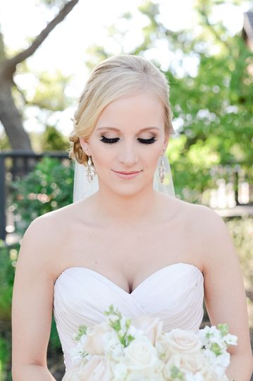 Beautiful bride on her special day