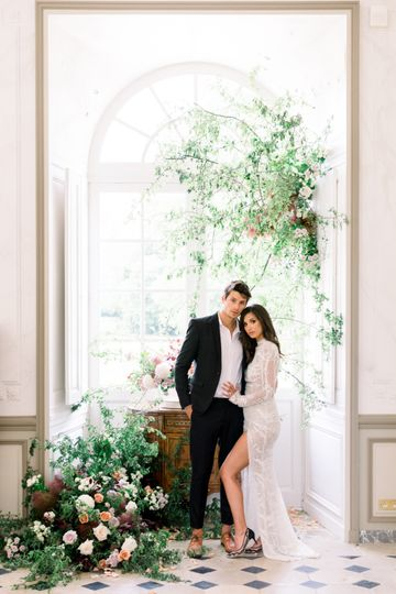 French Chateau Elopement
