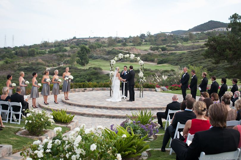 bella collina san clemente wedding by allison ma