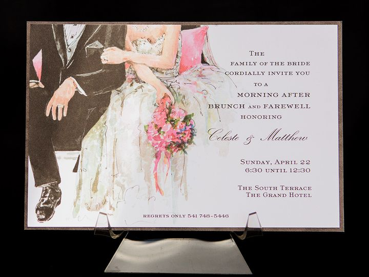Tmx 1414082200122 Marriage Couple Oddballs Reading wedding invitation