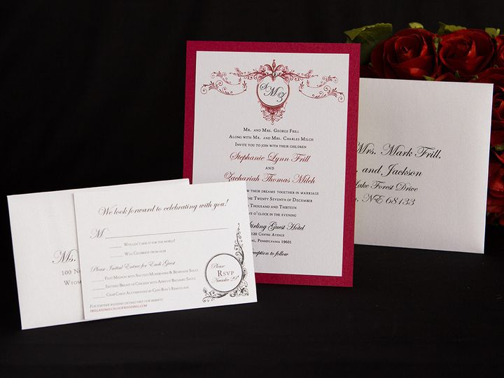 Tmx 1414083850019 33 Reading wedding invitation