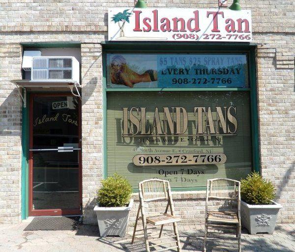 IslandTansStroreFront41NorthAveE CranfordNJ070167