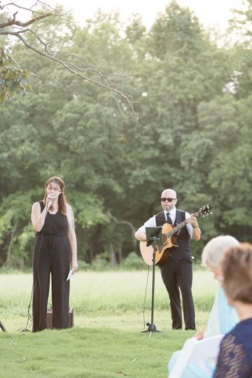 Guitar-Vocal ceremony duo