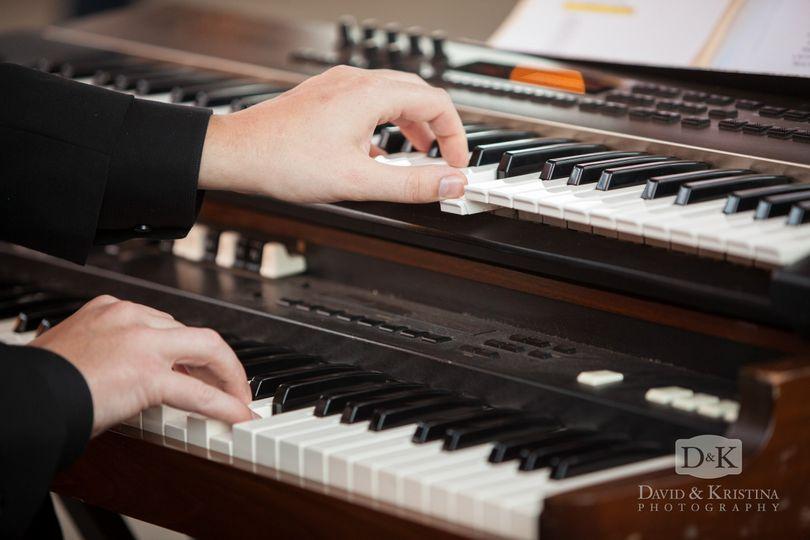 Organ and piano work