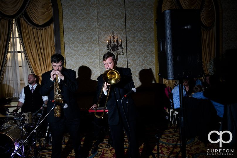 One of our horn sections!