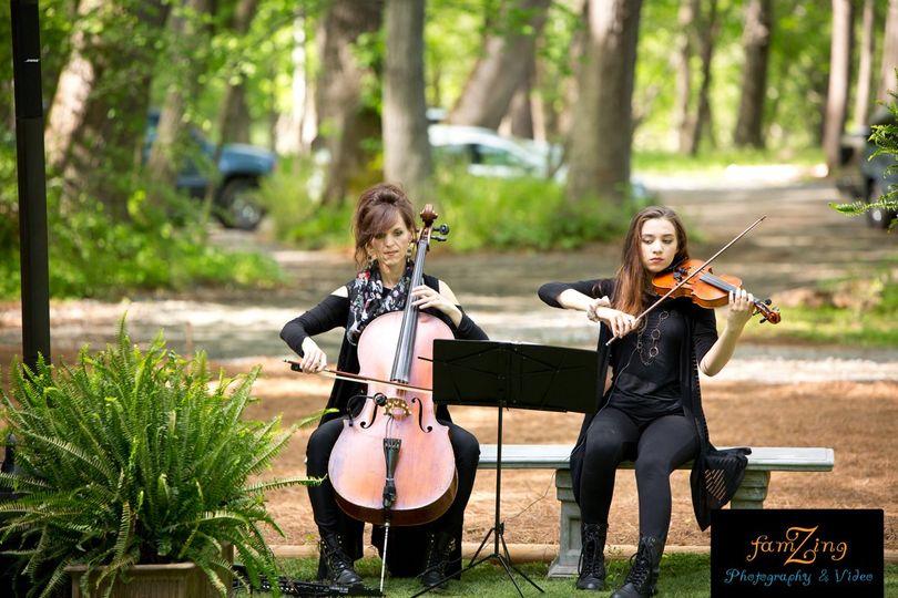 Cello-Violin ceremony duo