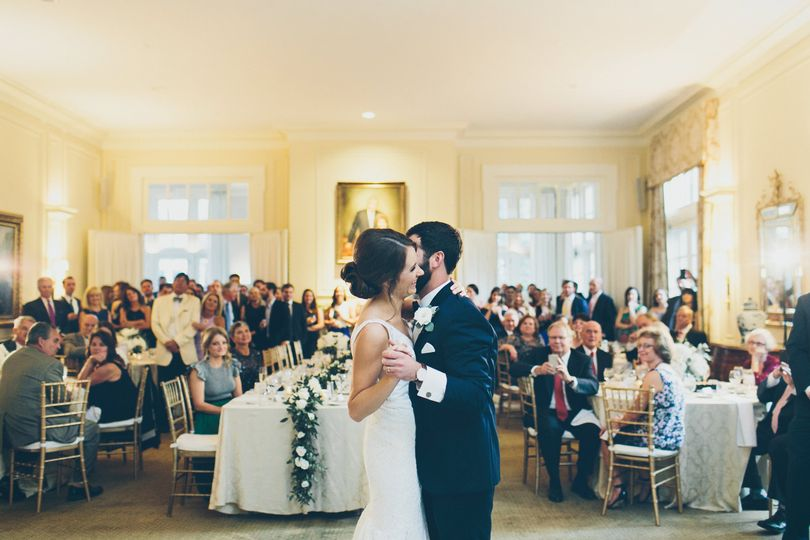 First dance in the Living Room