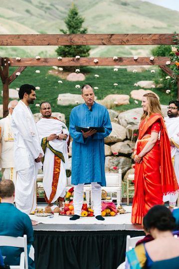 The Garden Place ceremony