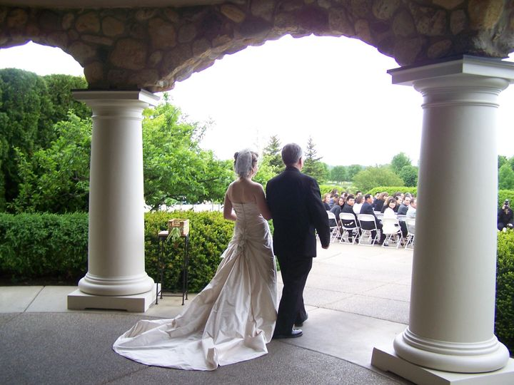 Tmx 1429644208065 Bride  Dad Starting Down Aisle Lake In The Hills, IL wedding venue