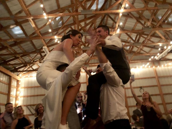Barn Weddings are fun!