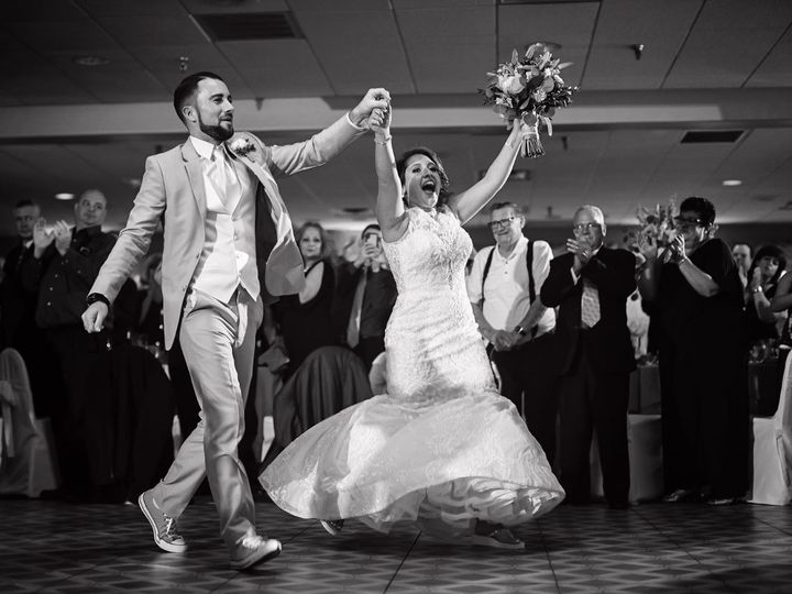Tmx Bride And Groom Arms Up Kie Dj Dj Duo 2018 Beauridge Greate Bay Cc 51 585214 V1 Atlantic City, New Jersey wedding dj