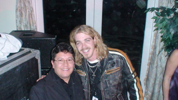 Bucky Covington (American Idol Season 5 Finalist) and Me at a 40th Birthday Party