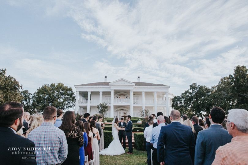 Mansion Front Ceremony