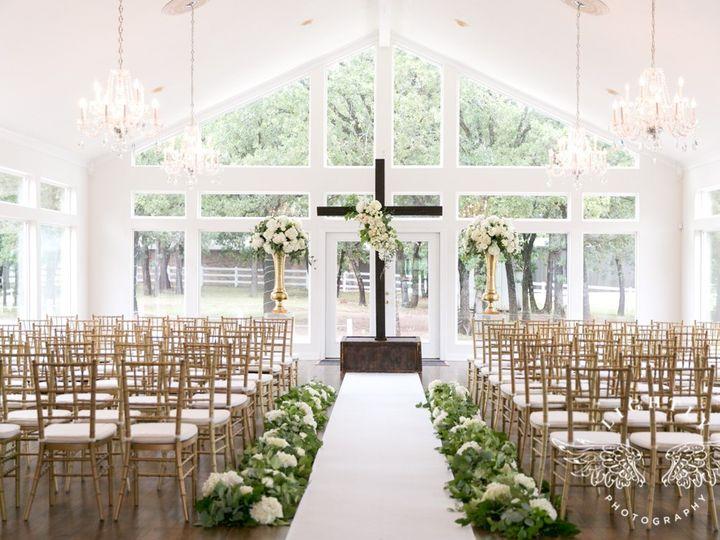 Tmx 06 24 2017 Ballroom Ceremony Cross Gold Chivari Aisle Runner Floral 51 408214 1563379917 Burleson, TX wedding venue