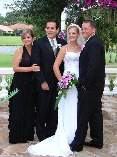 Married August 25th at Lacita Country Club in Titusville