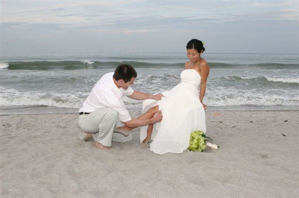 Married July 18, 2008 at Lori Wilson Park, Cocoa Beach