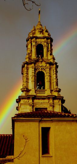 belltower 1 rainbow