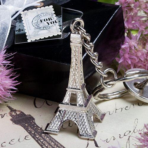 Eiffel Tower Keychain Wedding Favor ($0.53)