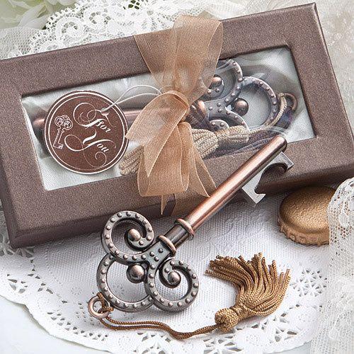 Skeleton Key Bottle Opener Wedding Favors ($1.31)