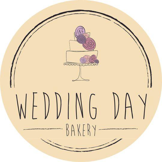 wedding day bakery sticke