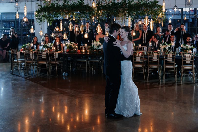 The first dance.