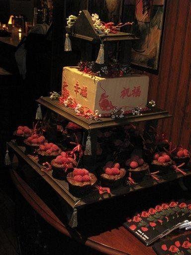 Tmx 1284775174925 ChinesePagodaCake1 Greensboro, NC wedding cake