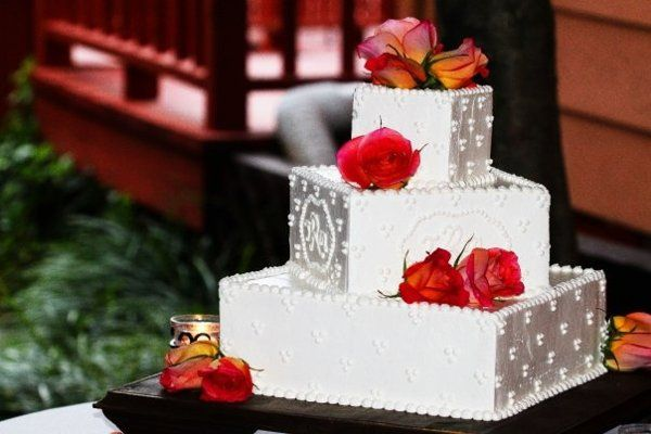 Tmx 1309752897425 MelaniesWeddingCake2 Greensboro, NC wedding cake