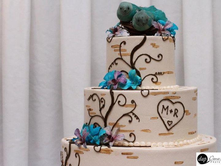 Tmx 1343001040425 Tuttle.HargraveWedding Greensboro, NC wedding cake