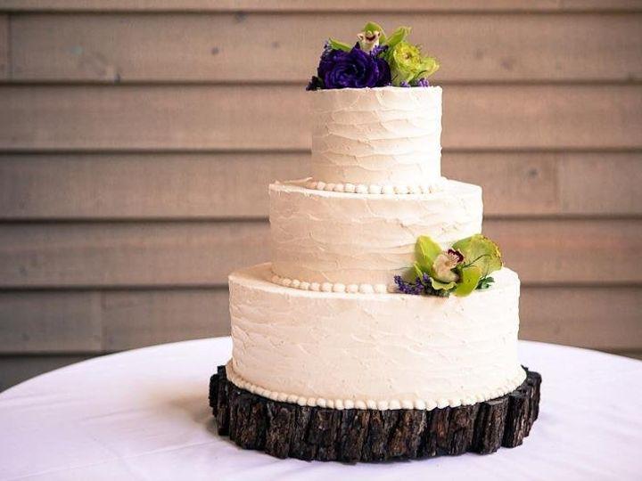 Tmx 1343001388411 JenniferAndysWeddingCake Greensboro, NC wedding cake