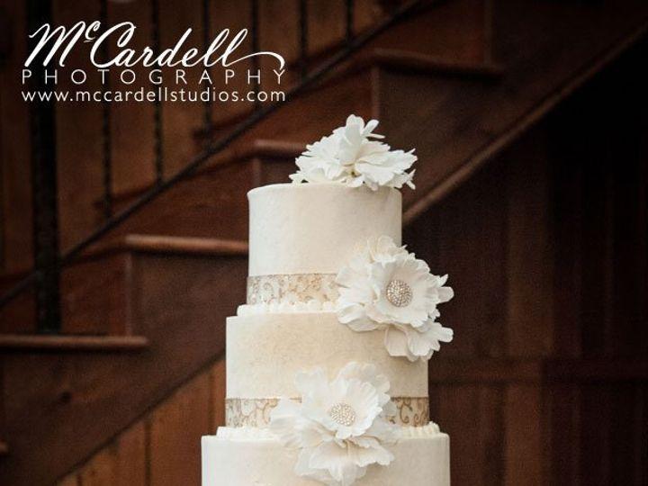 Tmx 1343002418529 32AdaumontFarmwedding Greensboro, NC wedding cake