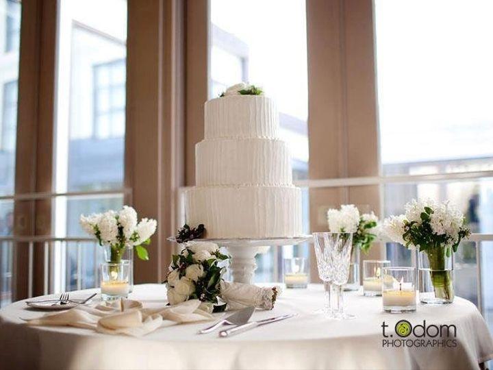 Tmx 1343003706340 StephNathansWeddingCake Greensboro, NC wedding cake