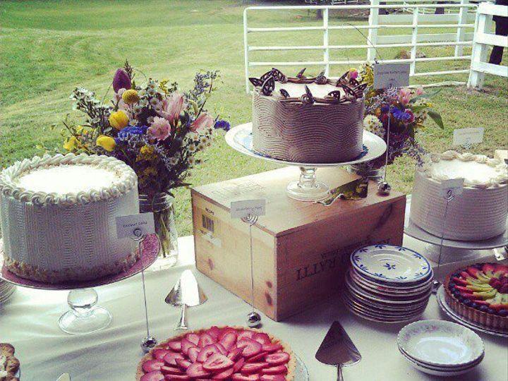Tmx 1343005185551 Traceystevensdessertbuffet Greensboro, NC wedding cake