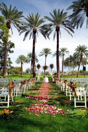 palm grove wedding