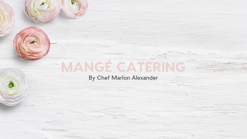 Mangé Catering and Events -- award winning cuisine for epic events and occasions.