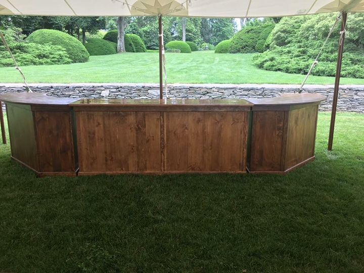 3 piece bar! Use all 16ft or any independent section for your event