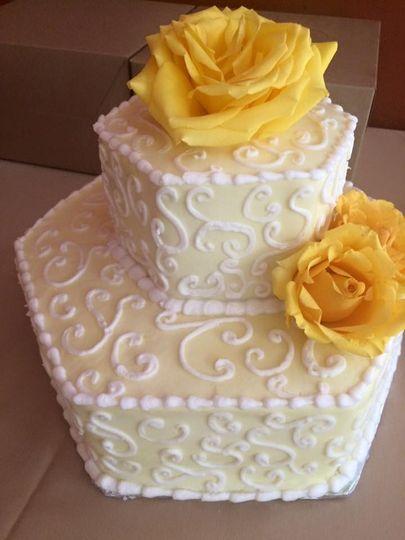 A Slice of Joy Wedding Cake Columbus GA WeddingWire