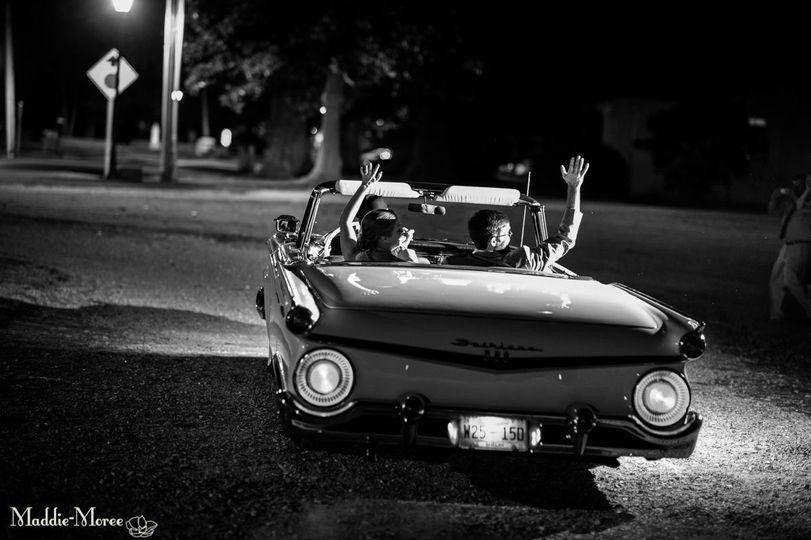 Vintage at night