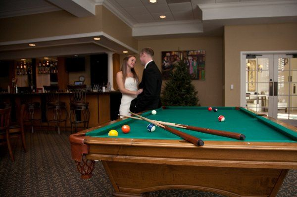 Pictorial in the billiard hall