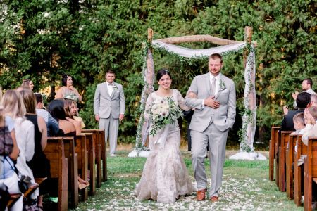 Wedding recession | Deyla Huss Photography