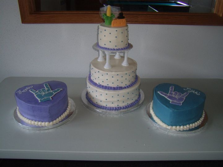 Tmx 1352470240252 GEDC0339 Eau Claire wedding cake