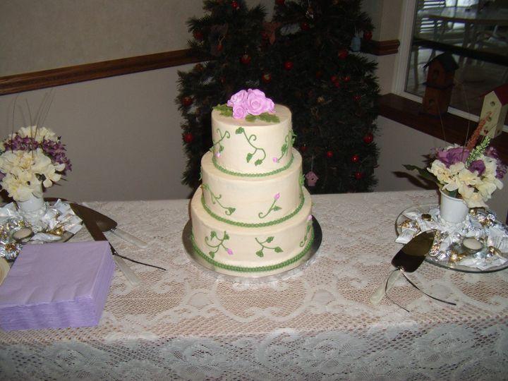 Tmx 1352470320517 GEDC1120 Eau Claire wedding cake